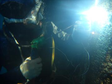 Underwater welding & cutting